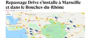 Repassage Drive s'installe à Marseille